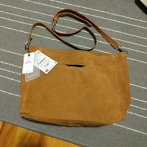 Zara Suede Leather Bag